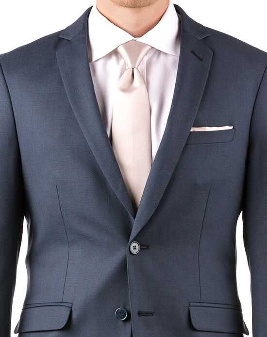 Generation Tux Slate Blue Notch Lapel Suit Blue Tuxedo
