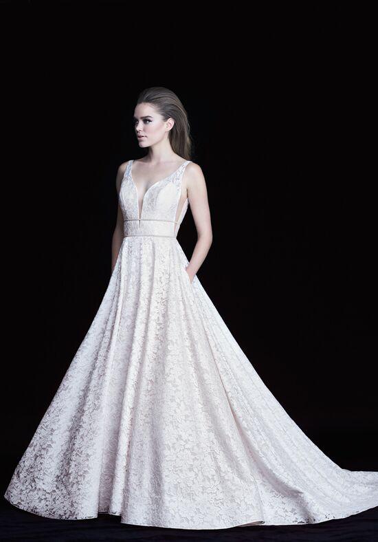 Paloma blanca 4754 wedding dress the knot for Custom wedding dress near me