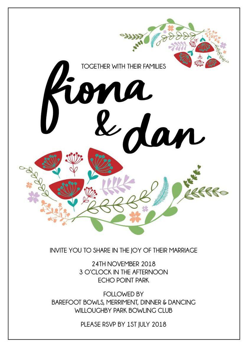 Fi Patterson And Dan Mackertich S Wedding Website