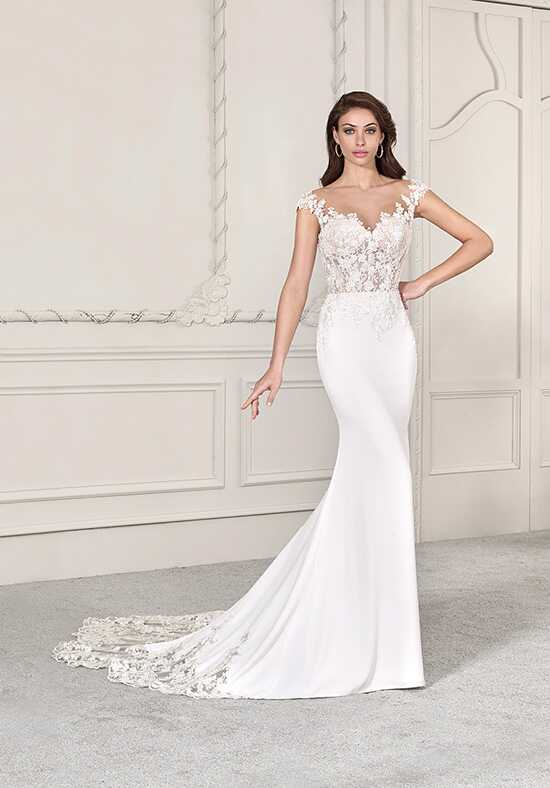 Demetrios 838 Sheath Wedding Dress