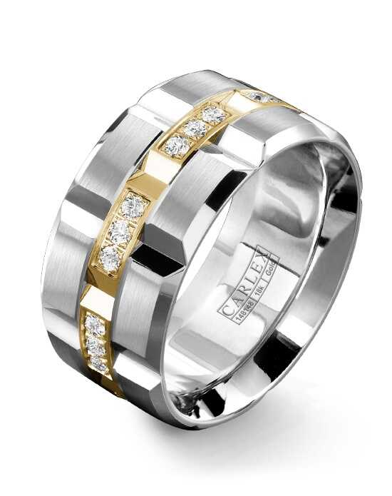 Carlex WB-9166YW Gold Wedding Ring