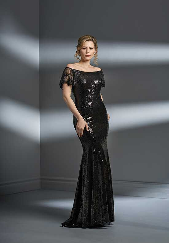 Jade Couture K198063 Black Mother Of The Bride Dress