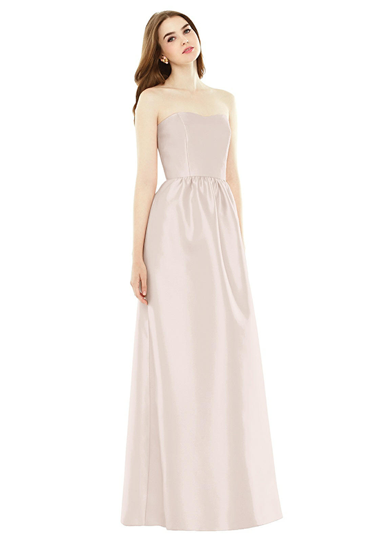 Alfred Sung D724 Sweetheart Bridesmaid Dress