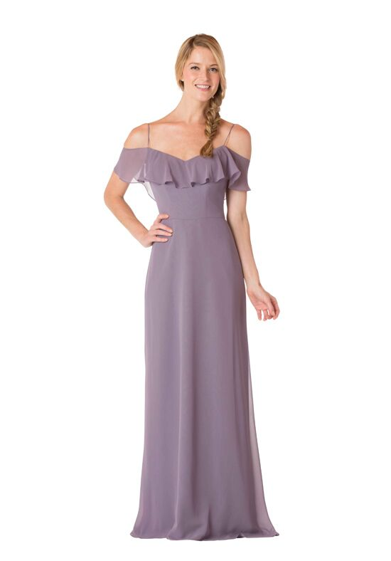 Bari Jay Bridesmaids 1730 Off the Shoulder Bridesmaid Dress