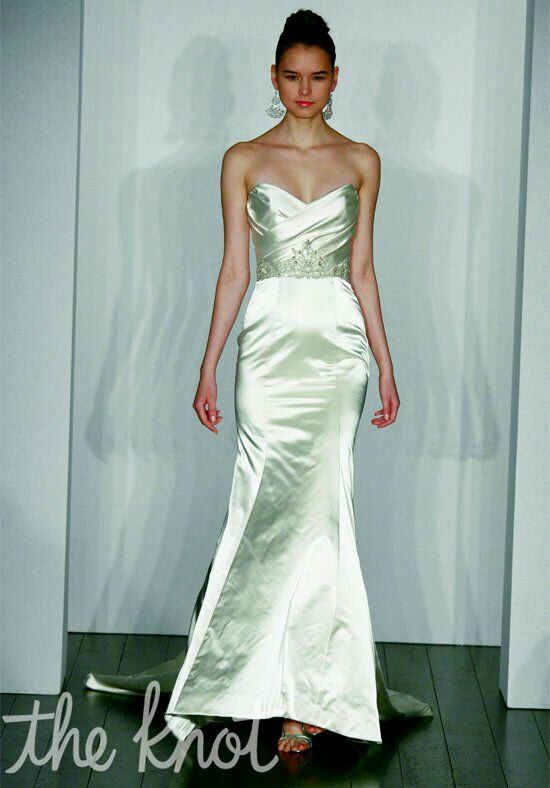 Kenneth Pool Sophisticate Mermaid Wedding Dress