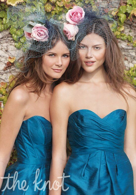 Watters Maids 1452 & 1485 Strapless Bridesmaid Dress