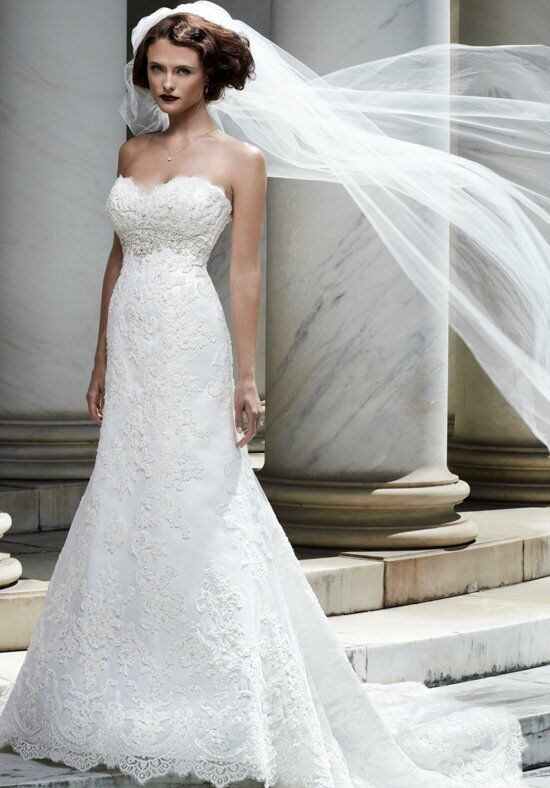 Casablanca Bridal 2072 A-Line Wedding Dress