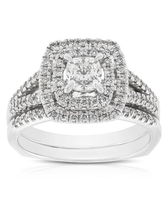 Ben Bridge Jeweler Vintage Cushion Cut Engagement Ring