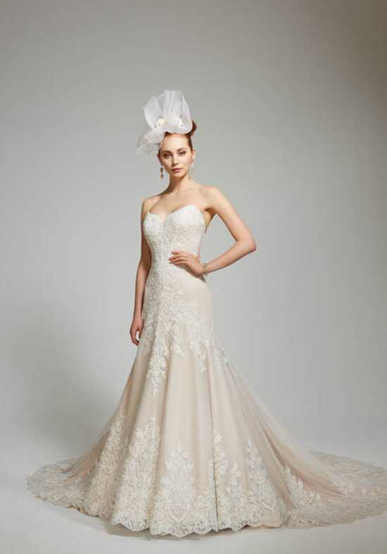 Matthew Christopher Valerie Mermaid Wedding Dress