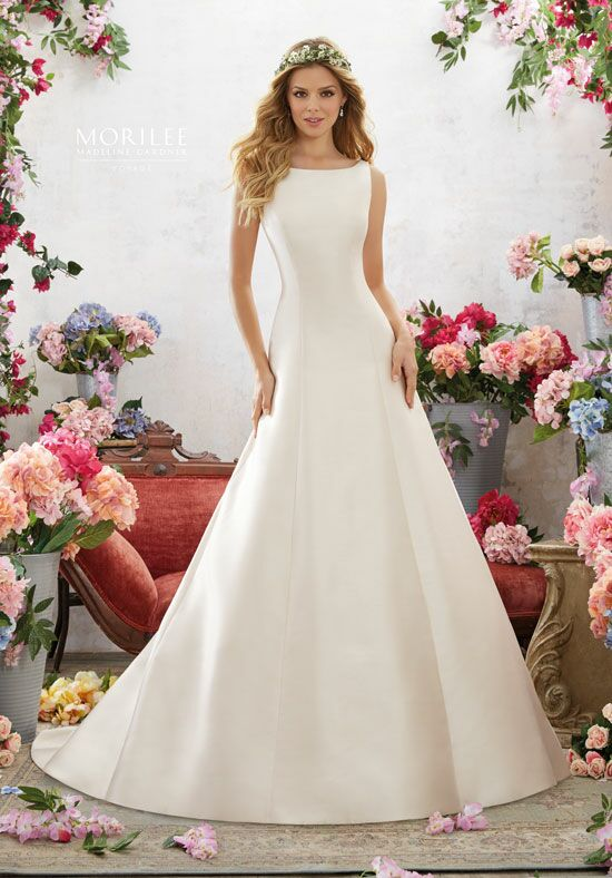 Morilee by Madeline Gardner/Voyage 6858 A-Line Wedding Dress