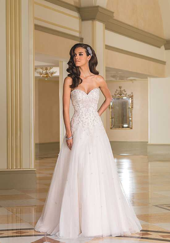 Justin Alexander 8869 A-Line Wedding Dress