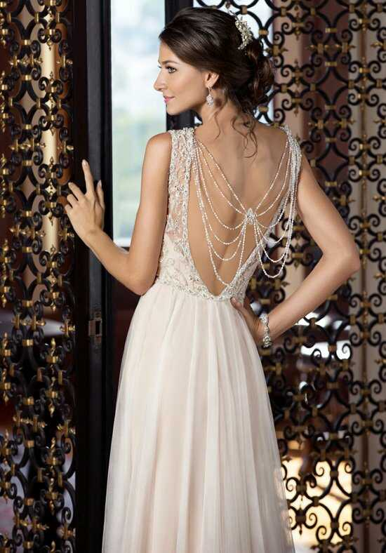 KITTYCHEN Couture CASSIDY, H1433 Sheath Wedding Dress
