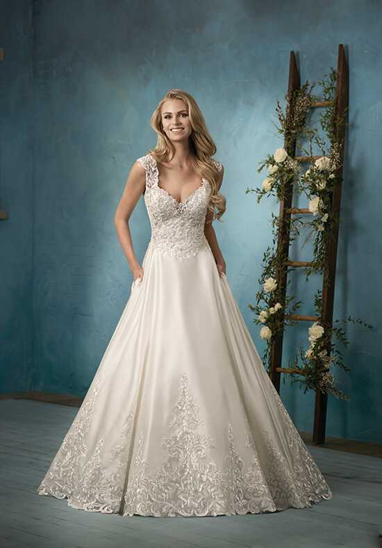 Jasmine Collection F191061 Ball Gown Wedding Dress