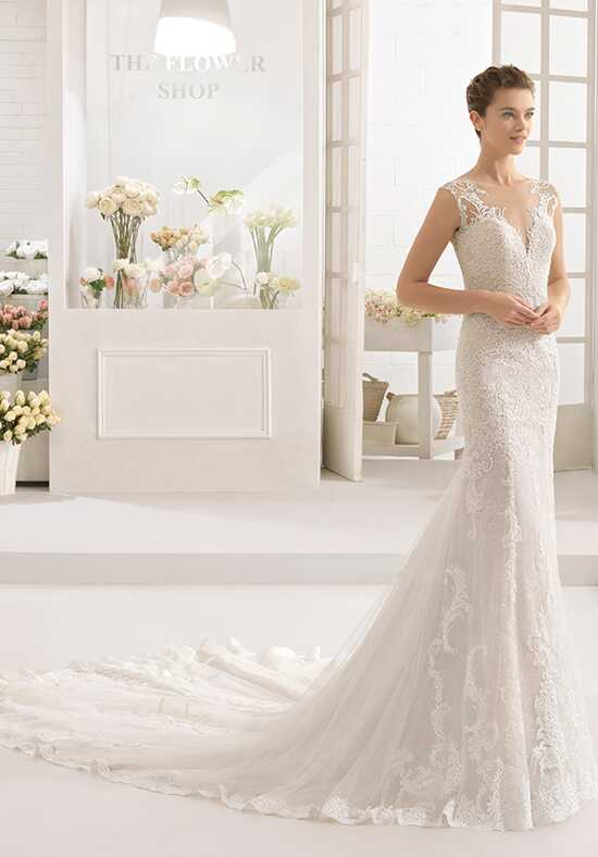 Aire Barcelona Caiman Mermaid Wedding Dress