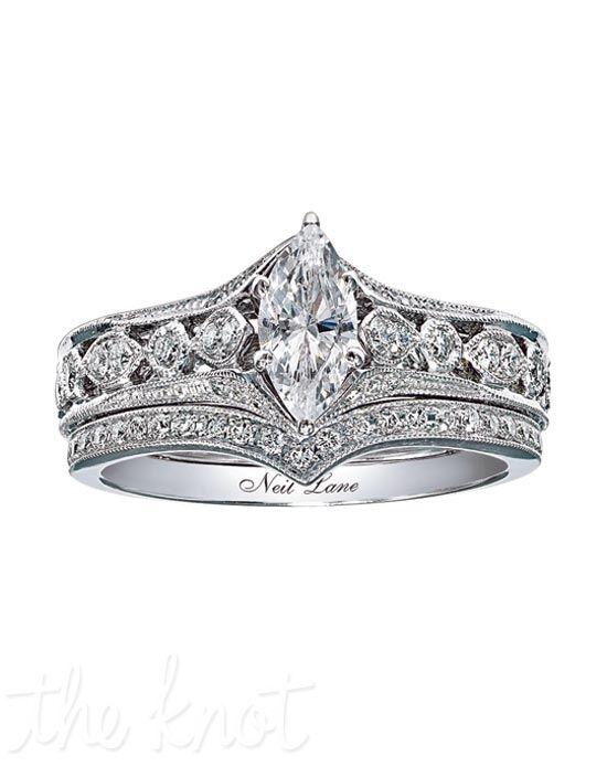 Neil Lane Bridal 940201510 White Gold Wedding Ring