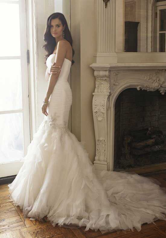 Badgley Mischka Bride Brigette Mermaid Wedding Dress