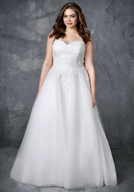 Femme by Kenneth Winston 3412 Ball Gown Wedding Dress