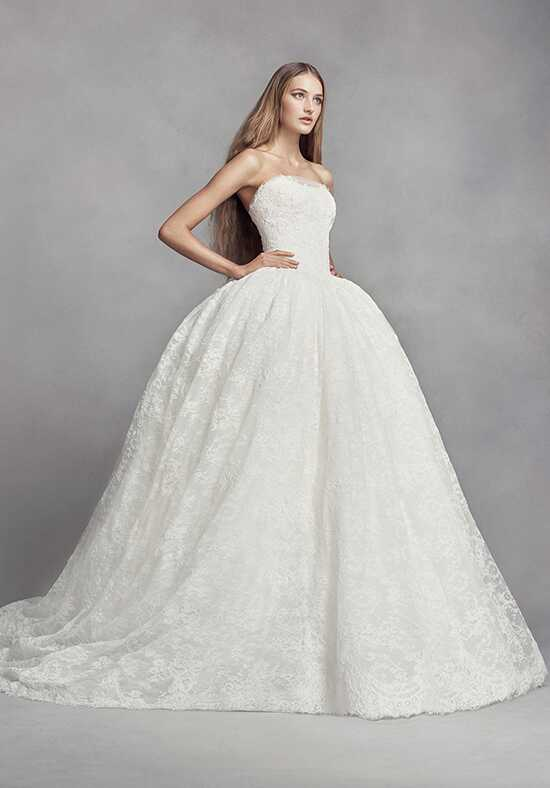 White by vera wang wedding dresses for Best vera wang wedding dresses