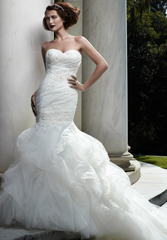 Casablanca Bridal 2066 Mermaid Wedding Dress