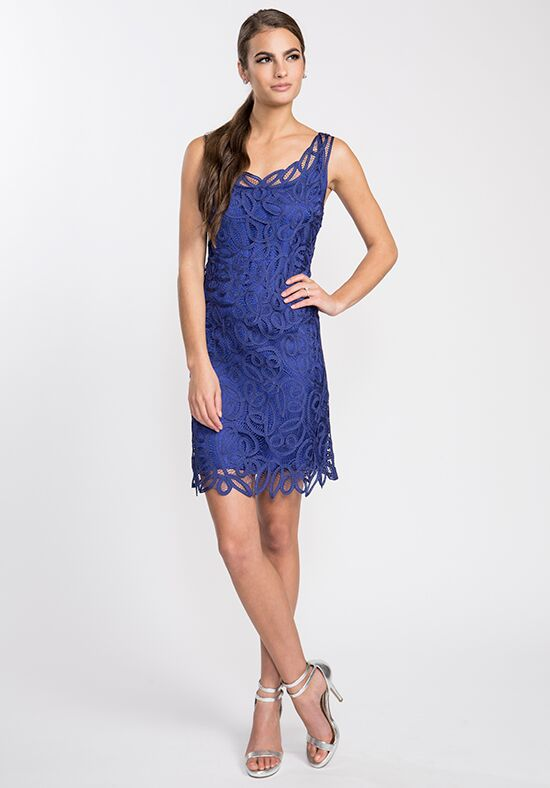 LuxeLace by Soulmates D1305 Blue Mother Of The Bride Dress