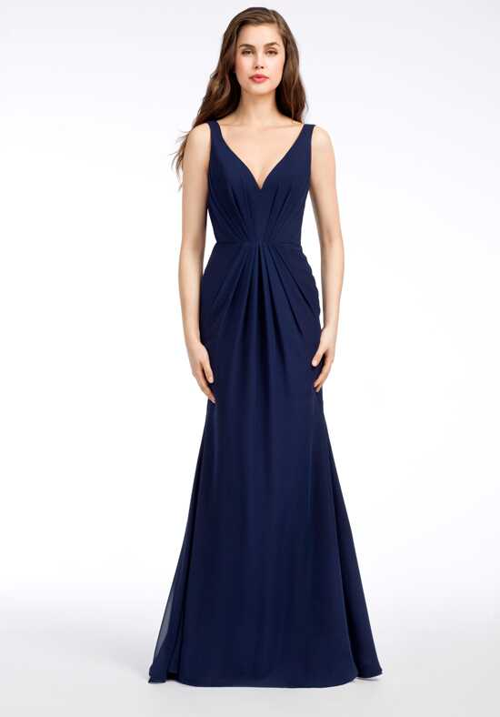 Hayley Paige Occasions 5651 V-Neck Bridesmaid Dress
