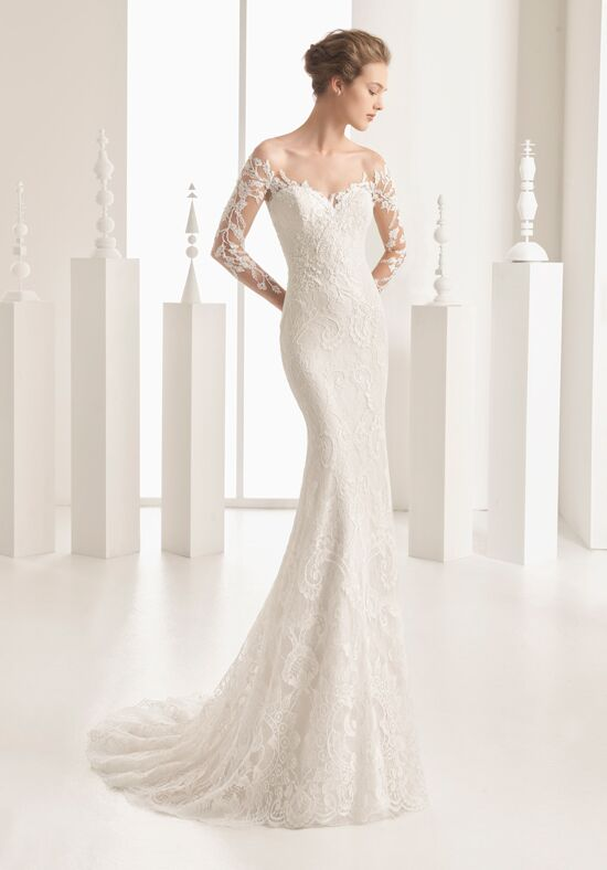 Rosa Clará Naim Sheath Wedding Dress