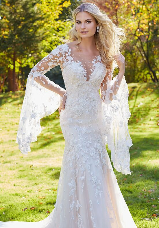 Morilee by Madeline Gardner Madonna | Style 8129 Sheath Wedding Dress
