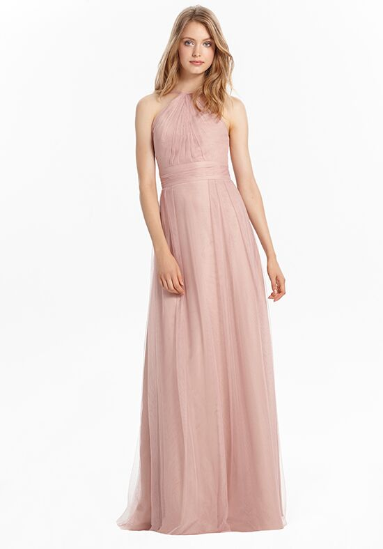 Monique Lhuillier Bridesmaids 450466 Halter Bridesmaid Dress