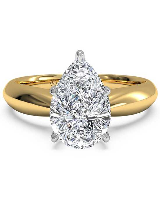 jewelersco wedding rings pear diamond band ring shaped