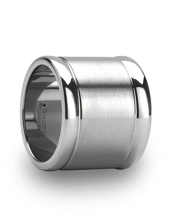 Mens Tungsten Wedding Bands W627-FBCW Tungsten Wedding Ring