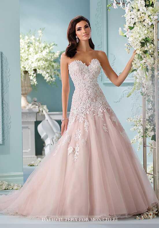 David Tutera for Mon Cheri 216241 Kalapini A-Line Wedding Dress