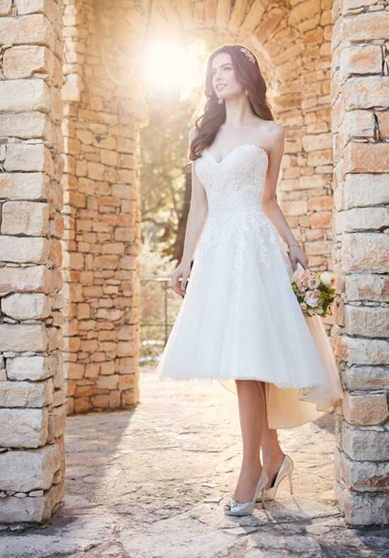 Essense of Australia D2189 A-Line Wedding Dress