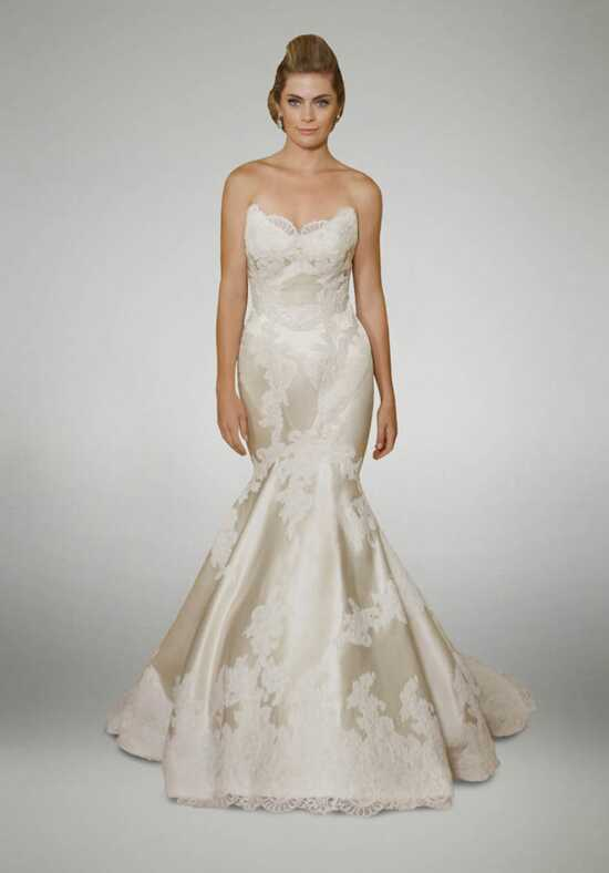 Matthew Christopher Duchess Mermaid Wedding Dress