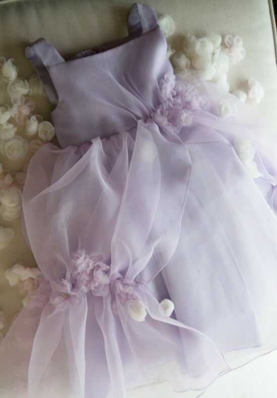 Eden Princess 12379 Purple Flower Girl Dress