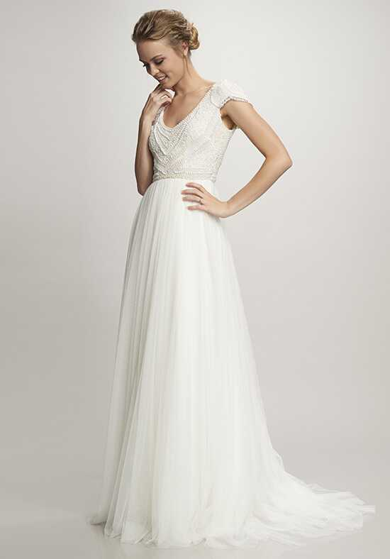 THEIA Nima A-Line Wedding Dress