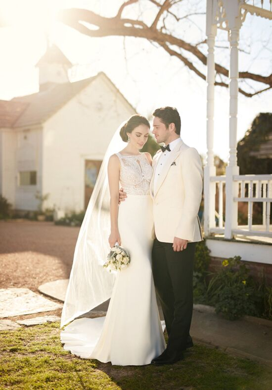 Martina Liana 823 Sheath Wedding Dress