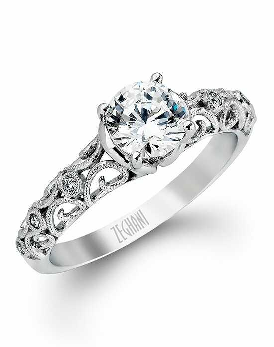 Zeghani Cut Engagement Ring