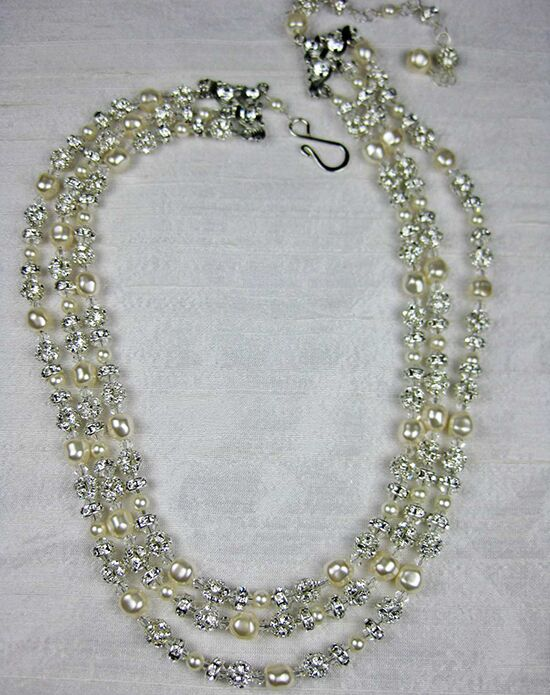 Everything Angelic Grace 3 Strand Necklace - n326 Wedding Necklace photo