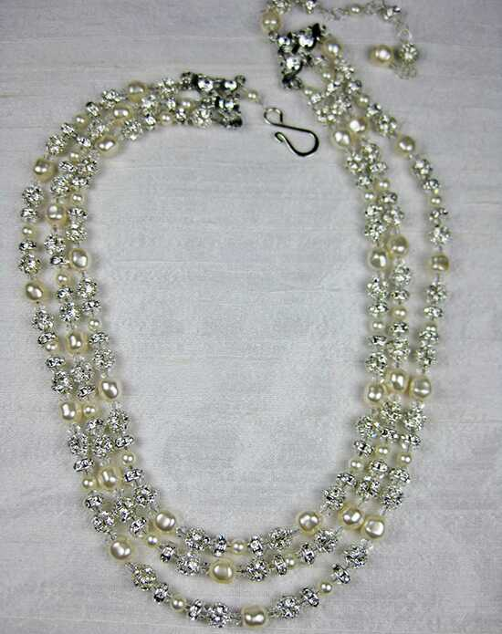 Everything Angelic Grace 3 Strand Necklace - n326 Wedding Necklaces photo