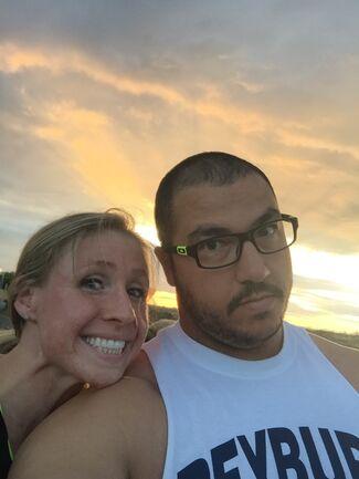 Danielle Heremann And Garen Stacey Wedding Photo 1