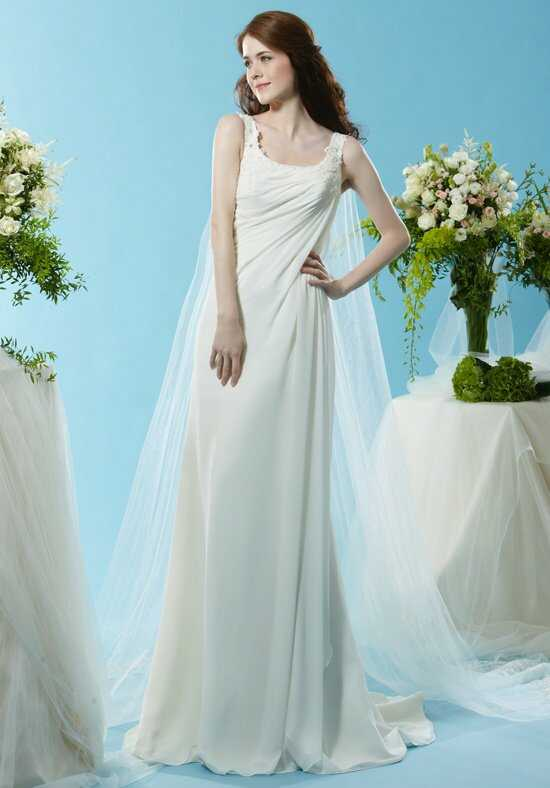 Eden Bridals SL072 A-Line Wedding Dress