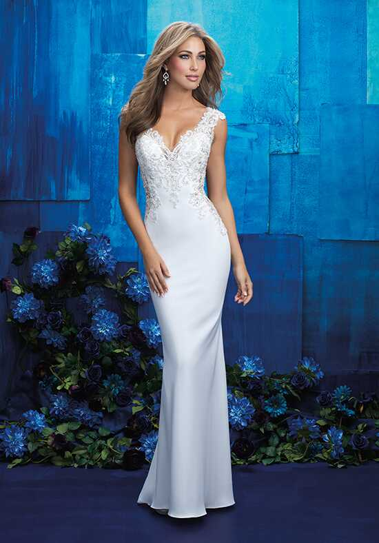 Allure Bridals 9417 Sheath Wedding Dress