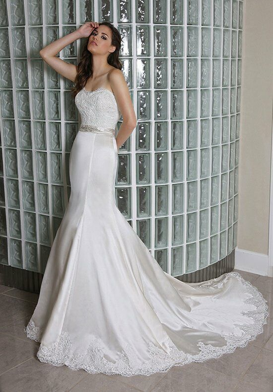 DaVinci Bridal 50232 Mermaid Wedding Dress
