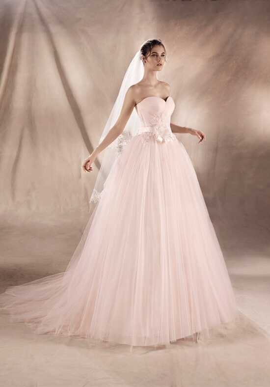 WHITE ONE YING Ball Gown Wedding Dress