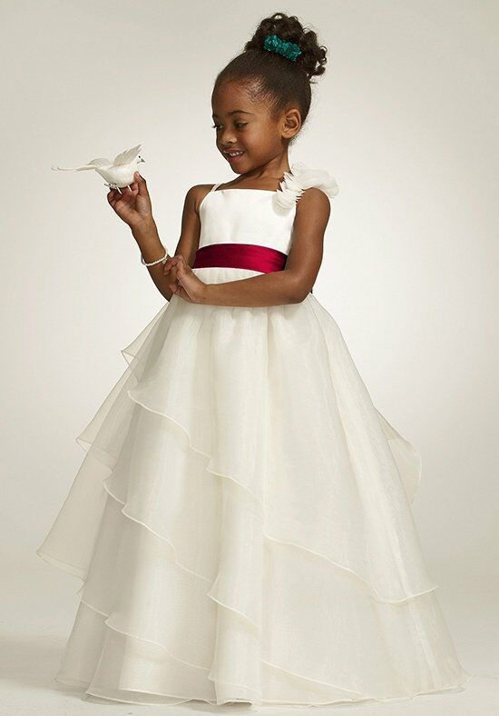 David's Bridal Flower Girl WG1267 Flower Girl Dress - The Knot