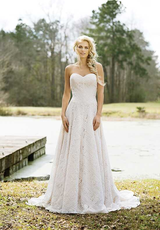 Lillian West 6458 A-Line Wedding Dress