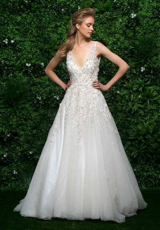 Enaura Bridal Couture ES654 Ball Gown Wedding Dress