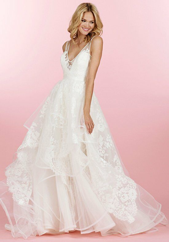 Hayley Paige 6458/Conrad Sheath Wedding Dress