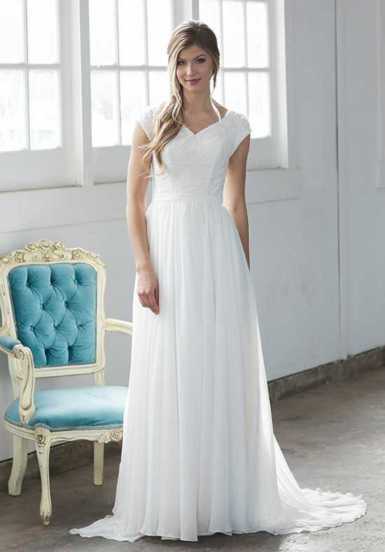 Modest by Mon Cheri TR21857 A-Line Wedding Dress