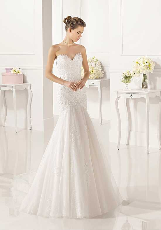Adriana Alier Zadani Mermaid Wedding Dress